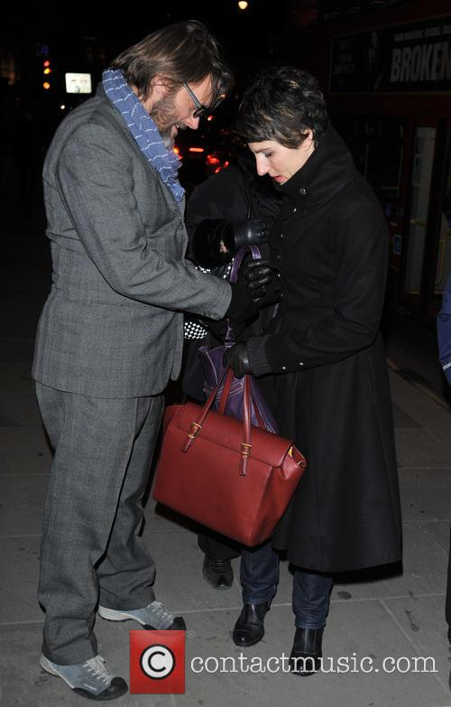 Tamsin Greig and Richard Leaf 1