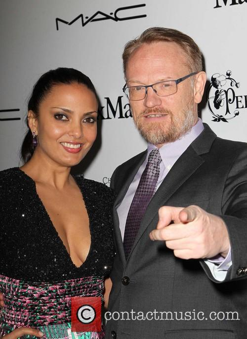 allegra riggio jared harris wif pre oscar party 3525545