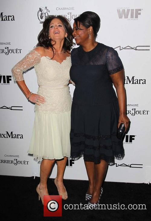 Cathy Schulman and Octavia Spencer 4