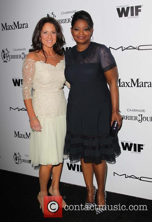 Cathy Schulman and Octavia Spencer 1
