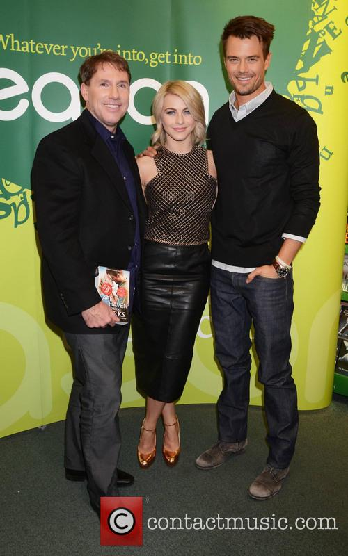 Nicolas Sparks, Josh Duhamel and Julianne Hough 2