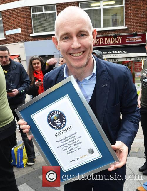 Ray Darcy With Guinness World Record 6