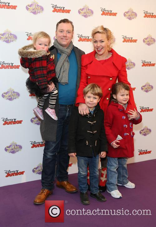 Rufus Hound With His Wife and Children 1