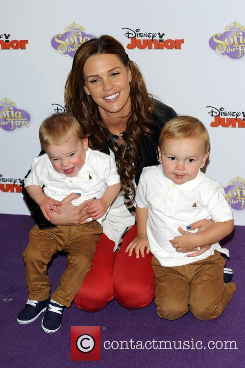 Danielle Lloyd, Archie O'hara and Harry O'hara 5
