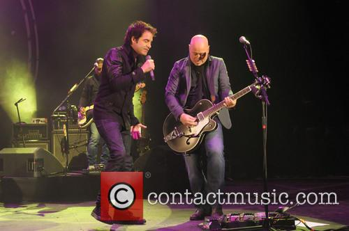 Pat Monahan, Jimmy Stafford and Train 8