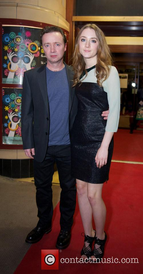 Saoirse Ronan and Paul Ronan 1