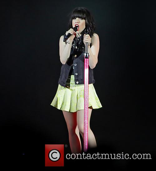 Carly Rae Jepsen performing at Manchester Arena