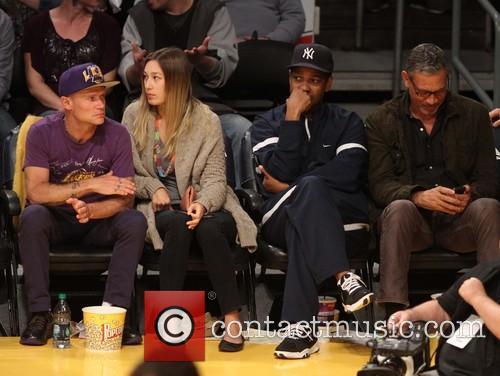 Flea, Aka Michael Balzary and Denzel Washington 1