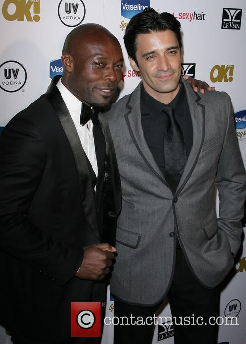 Jimmy Jean-louis and Gilles Marini 2