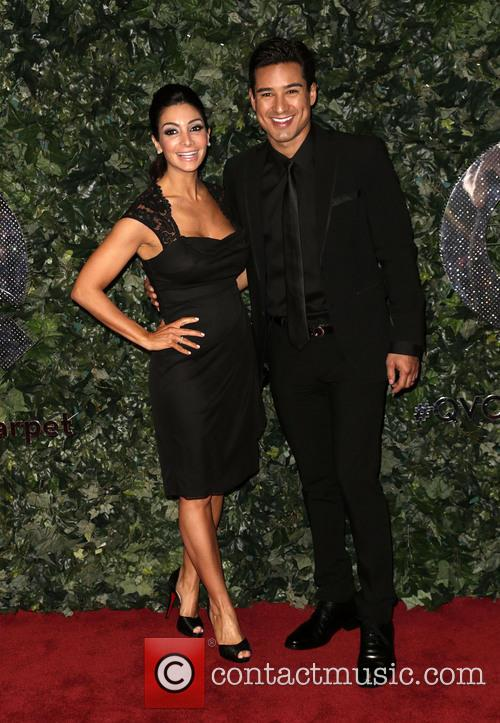 Courtney Mazza and Mario Lopez 2