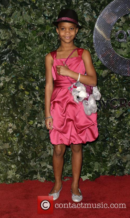 Quvenzhane Wallis - QVC Red Carpet Style at Four Seasons Hotel - Beverly Hills, California, United States