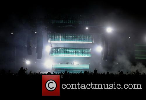Swedish House Mafia perform live