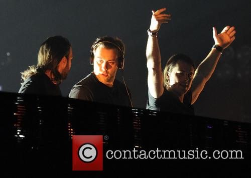 Swedish House Mafia, Axwell, Steve Angello and Sebastian Ingrosso 1