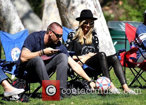 Martin Kristen and Heidi Klum 5