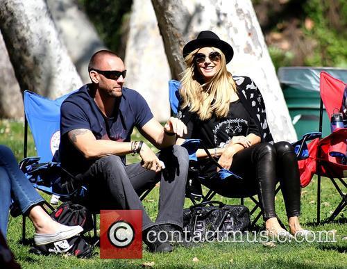 Martin Kristen and Heidi Klum 6