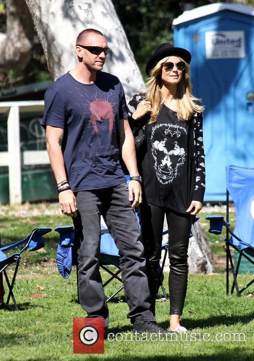 Martin Kristen and Heidi Klum 9