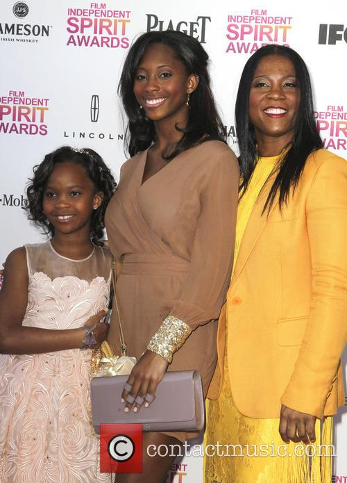 Quvenzhane Wallis, Qunyquekya Wallis and Qulyndreia Wallis 3