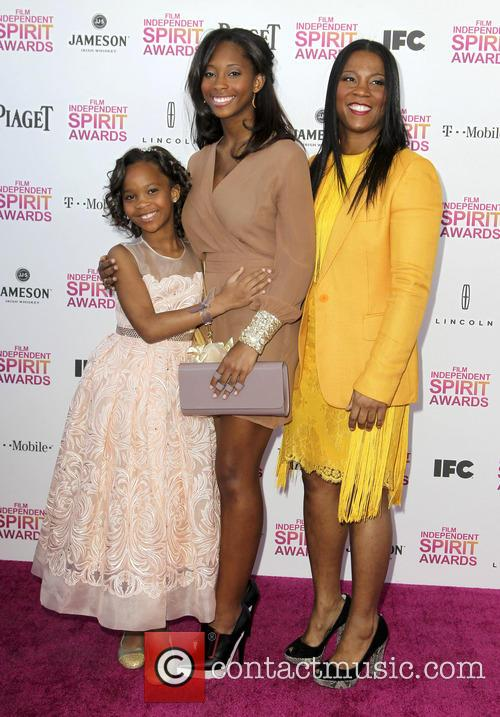 Quvenzhane Wallis, Qunyquekya Wallis and Qulyndreia Wallis 4