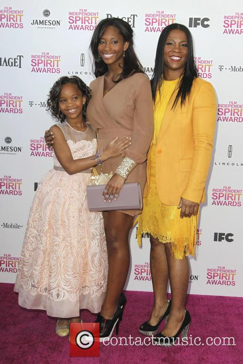 Quvenzhane Wallis, Qunyquekya Wallis and Qulyndreia Wallis 6