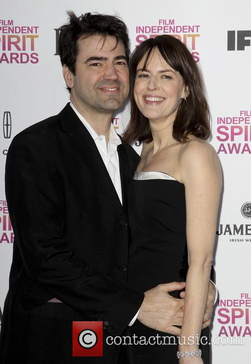 Ron Livingston and Rosemarie Dewitt 6