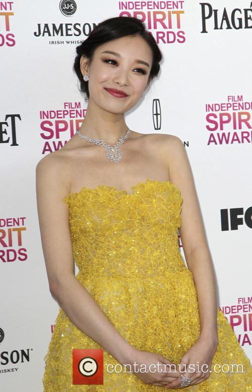 ziyi zhang film independent spirit awards arrivals 3525798