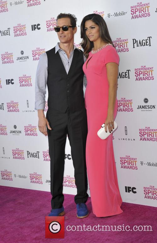 Camila Alves and Matthew Mcconaughey 11