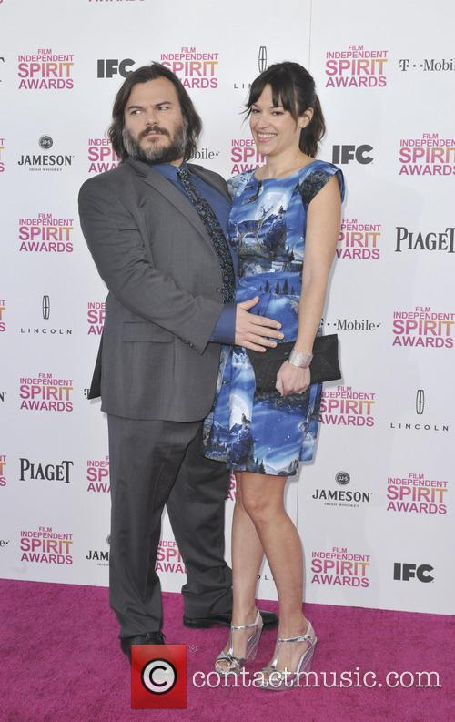 Jack Black, Tanya Haden, Independent Spirit Awards