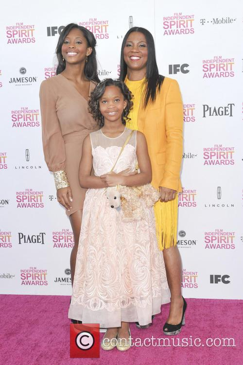 Quvenzhane Wallis, Qunyquekya Wallis and Qulyndreia Wallis 8