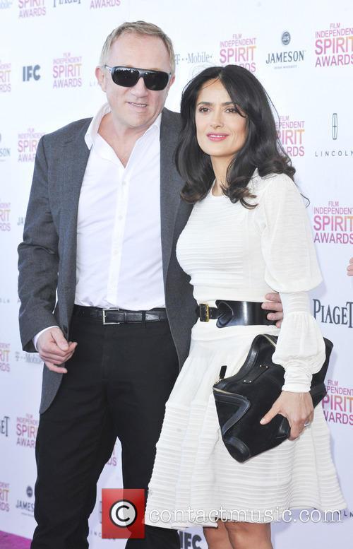 Salma Hayek and Francois-henri Pinault 5