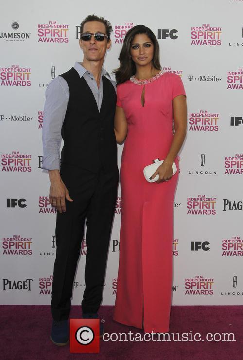 Camila Alves McConaughey, Matthew McConaughey, Independent Spirit Awards