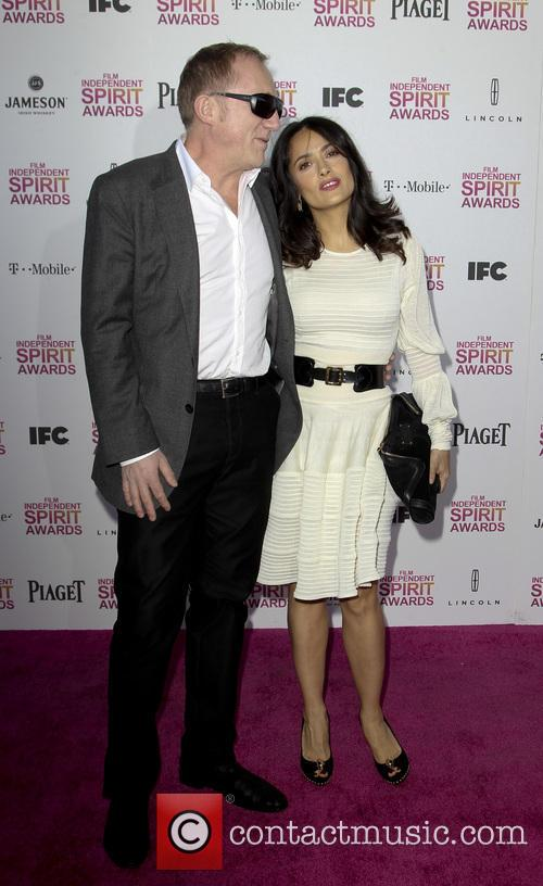 Francois-henri Pinault and Salma Hayek 2