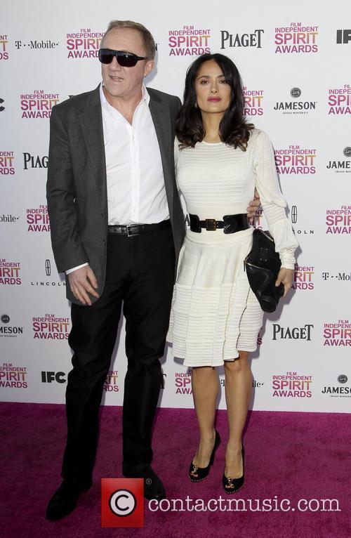 Francois-henri Pinault and Salma Hayek 3