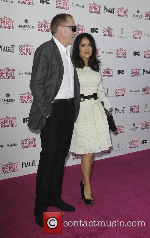 Francois-henri Pinault and Salma Hayek 4