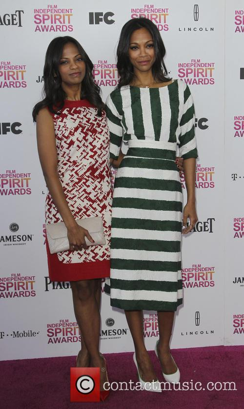 Cisley Saldana, Zoe Saldana, Independent Spirit Awards