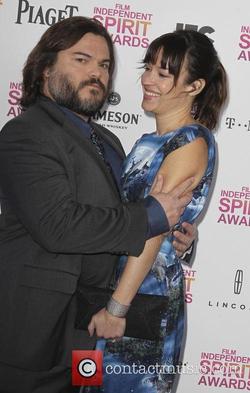 jack black tanya haden 2013 film independent spirit 3526290