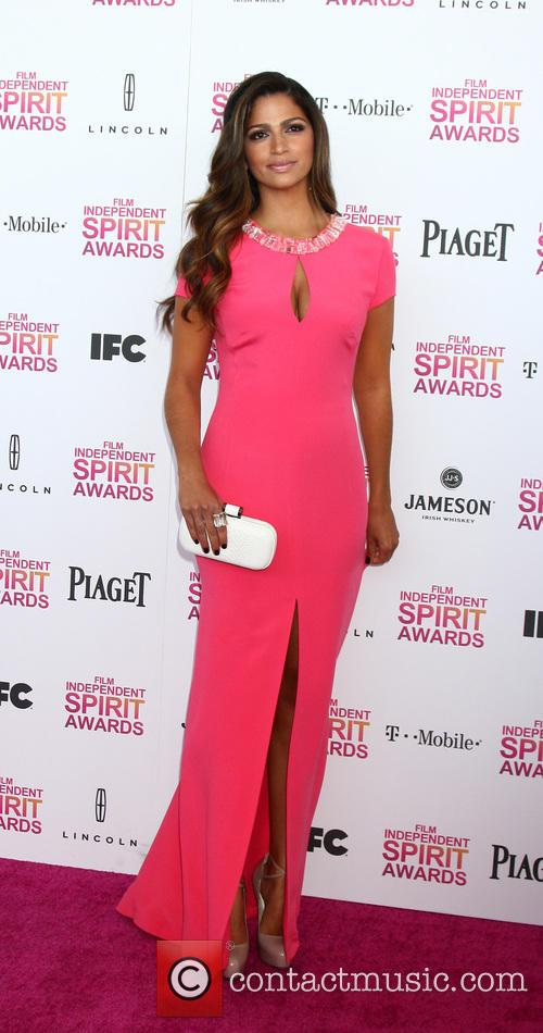 Camila Alves, Tent on the Beach, Independent Spirit Awards