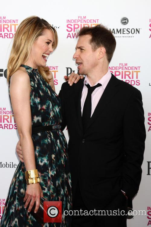 Leslie Bibb and Sam Rockwell 4