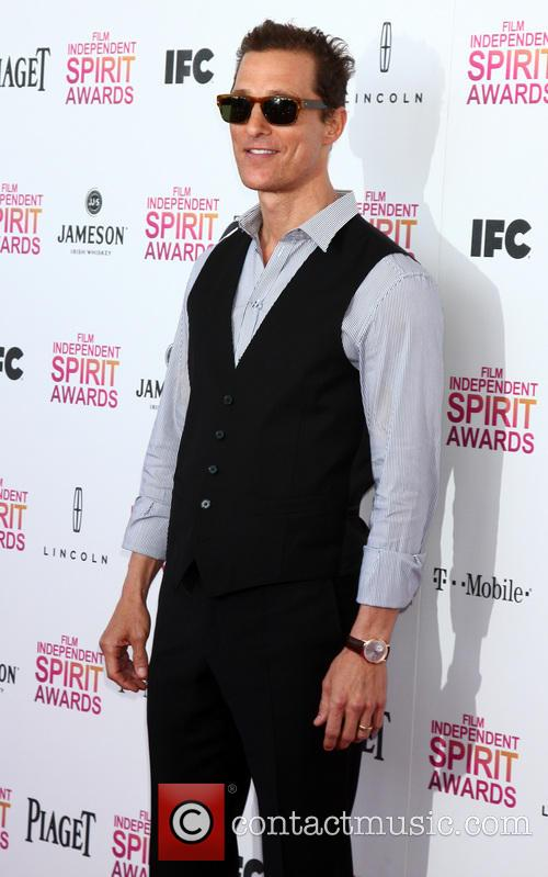 Matthew McConaughey, Tent on the Beach, Independent Spirit Awards