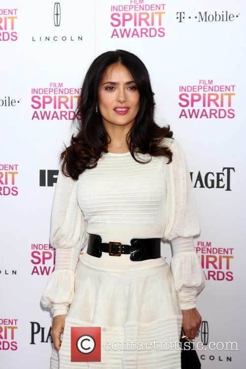 Salma Hayek, Tent on the Beach, Independent Spirit Awards