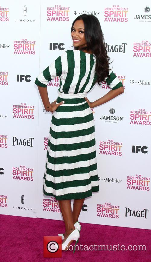 zoe saldana 2013 film independent spirit awards 3524209