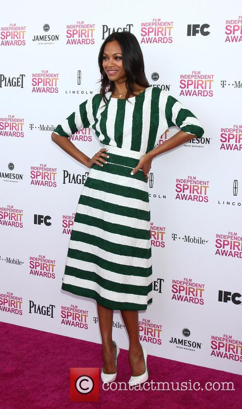 zoe saldana 2013 film independent spirit awards 3524260
