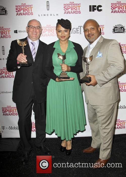 Howard Barish, Ava DuVernay, Paul Garnes, Independent Spirit Awards