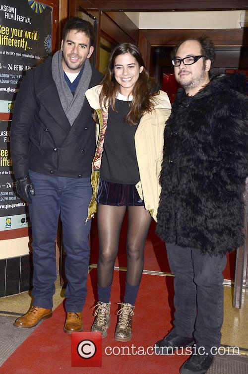 Eli Roth, Lorenza Izzo and Nicolas Lopez 1