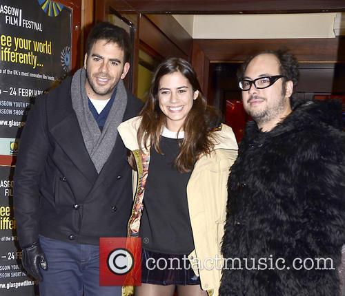 Eli Roth, Lorenza Izzo and Nicolas Lopez 2