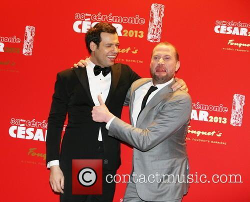 Laurent Lafitte and Francois Damiens