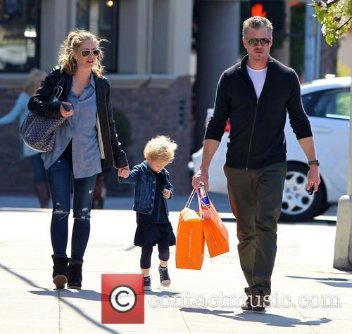 Eric Dane, Rebecca Gayheart and Billie Dane 5