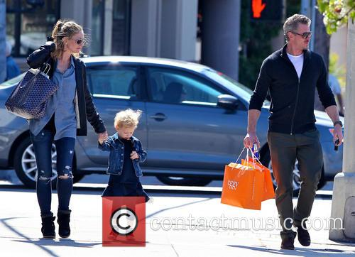 Eric Dane, Rebecca Gayheart and Billie Dane 6