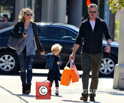 Eric Dane, Rebecca Gayheart and Billie Dane 10