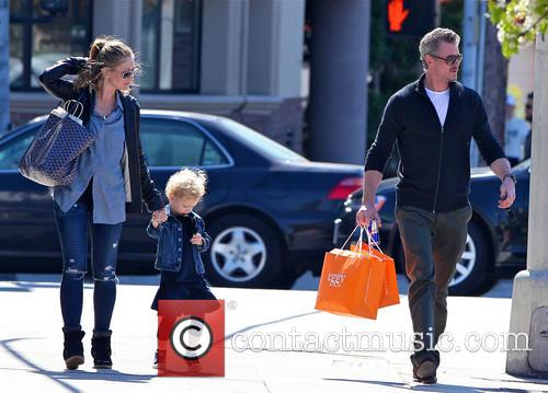 Eric Dane, Rebecca Gayheart and Billie Dane 11
