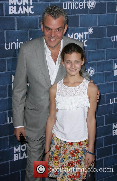 Danny Huston and Daughter 1